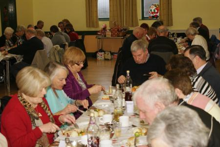 DVCA Senior Citizens' Xmas Dinner 2011